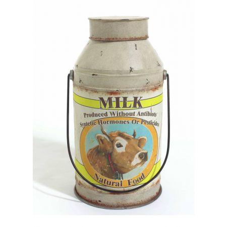 Διακοσμητικό δοχείο γάλατος 62x31cm