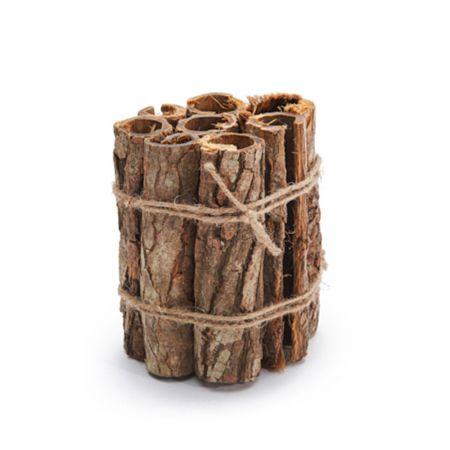 Δέσμη με κομμάτια φυσικού φλοιού δέντρου 15x15cm