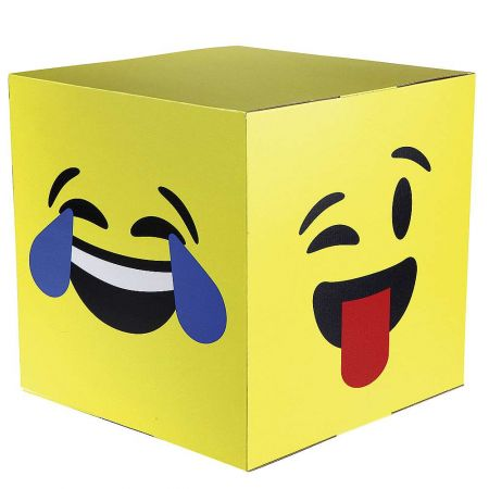 Διακοσμητικός κύβος με emoji , 40x40cm