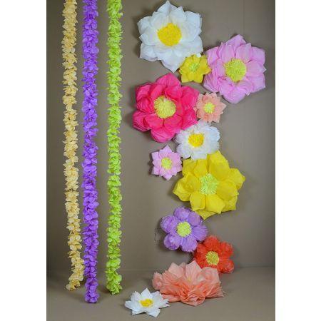 Flower Blossom Rain - group