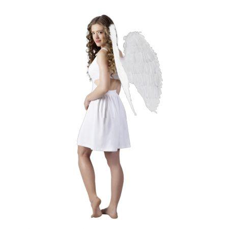 Διακοσμητικά Φτερά αγγέλου Λευκά 87x72cm