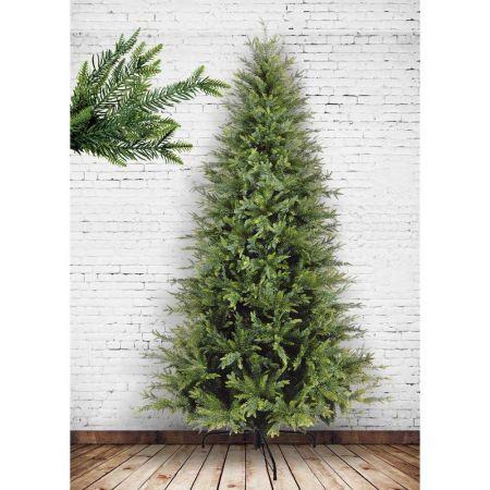 Χριστουγεννιάτικο δέντρο μισό - Makalu Mix PVC-PE plastic 240cm