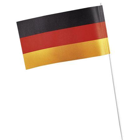 Σετ 50τμχ. Διακοσμητική σημαιά Γερμανίας 24x12cm