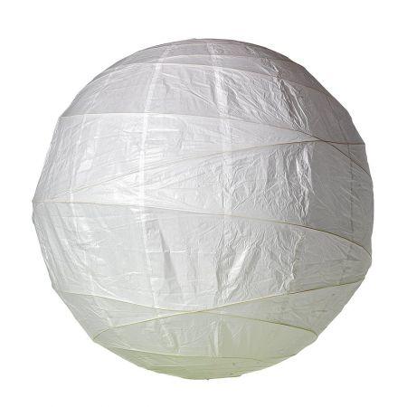 Διακοσμητικό μπαλόνι - φανάρι λευκό, 90cm