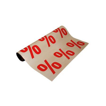 Χαρτί για τις εκπτώσεις για κάλυψη επιφανειών