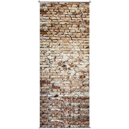 Διακοσμητική αφίσα  τούβλο τοίχος 100x250 cm