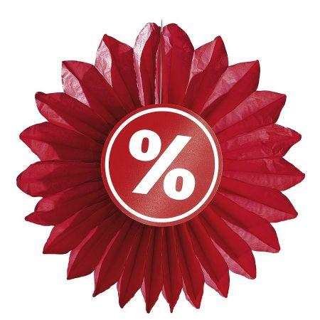 Διακοσμητική ροζέτα εκπτώσεων % 67 cm