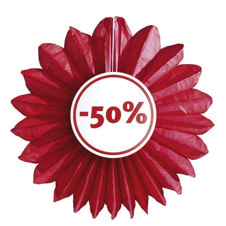 Διακοσμητική ροζέτα εκπτώσεων 50% 67 cm