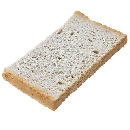 HQ Διακοσμητική φέτα ψωμί του τοστ απομίμηση 9,5x5cm