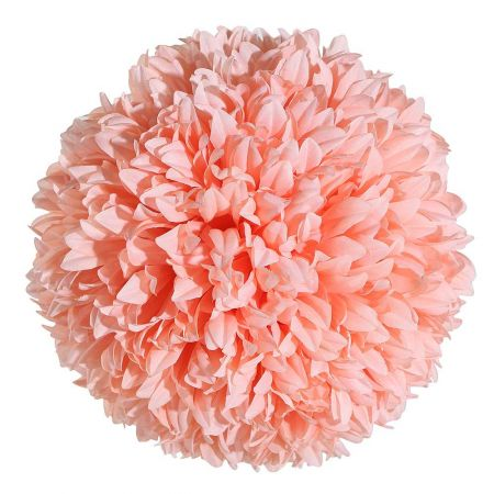 Διακοσμητική μπάλα - Pom Pom Πορτοκαλί 25cm