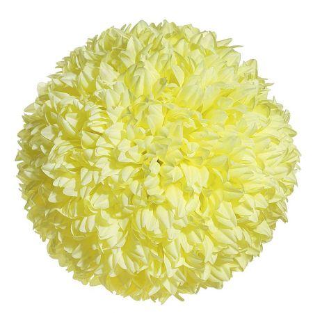 Διακοσμητική μπάλα - Pom Pom Κίτρινη 25cm