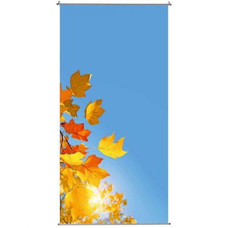 Διακοσμητική αφίσα με φύλλα και ουρανό 100x200cm