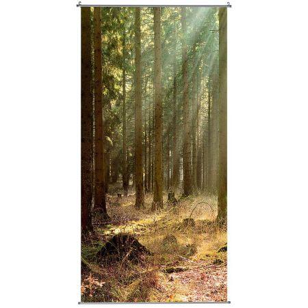 Διακοσμητική αφίσα με δάσος 100x200cm