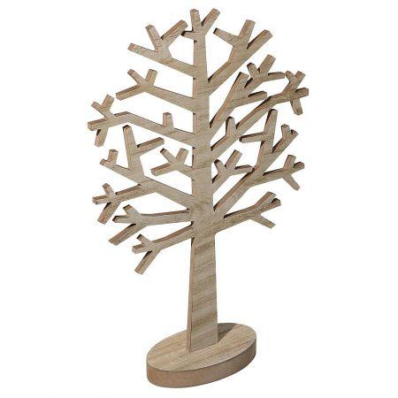Διακοσμητικό αφαιρετικό δέντρο ξύλινο 48x31cm