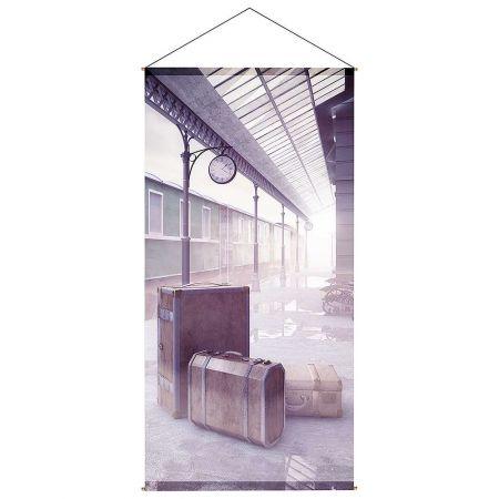 Διακοσμητική αφίσα - Σταθμός τρένου 100x200cm