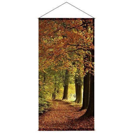 Διακοσμητική αφίσα - Φθινοπωρινό δάσος 100x200cm