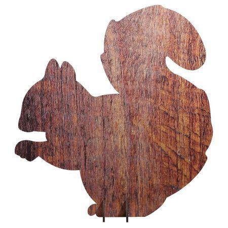 Ξύλινη φιγούρα Σκίουρος 46x43cm
