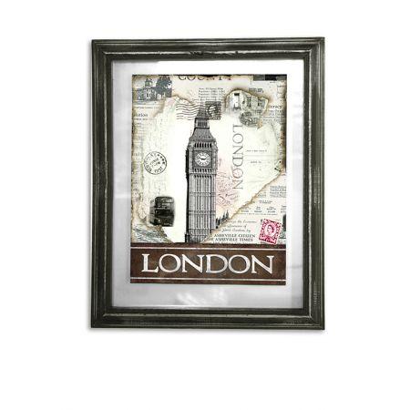 Διακοσμητικός Πίνακας London 39x48cm